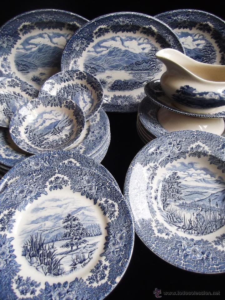 Vajilla de porcelana inglesa churchill staffor comprar for Vajilla de porcelana inglesa