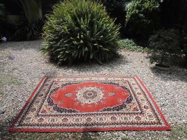 Alfombra antigua de lana marca boyer 2 m x 1 comprar alfombras antiguas en todocoleccion - Marcas de alfombras ...