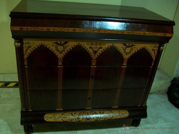 CÓMODA SIGLO XIX (Antigüedades - Muebles - Cómodas Antiguas)