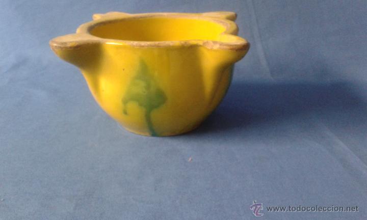 ANTIGUO ALMIREZ DE CERAMICA (Antigüedades - Porcelanas y Cerámicas - Otras)