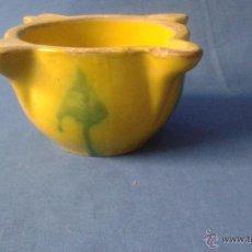 Antigüedades: ANTIGUO ALMIREZ DE CERAMICA . Lote 51652662