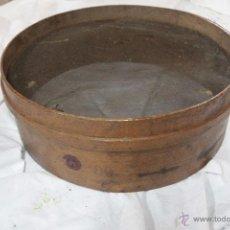 Antigüedades: ANTIGUO Y GRAN GARBILLO, MADERA TRATADA, MARCA REGISTRADA . Lote 51656362