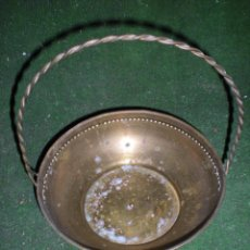 Antigüedades: FRUTERO DE METAL DIÁMETRO 19CM. Lote 51658795