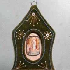 Antigüedades: ESCAPULARIO DEL SIGLO XIX. Lote 51667499