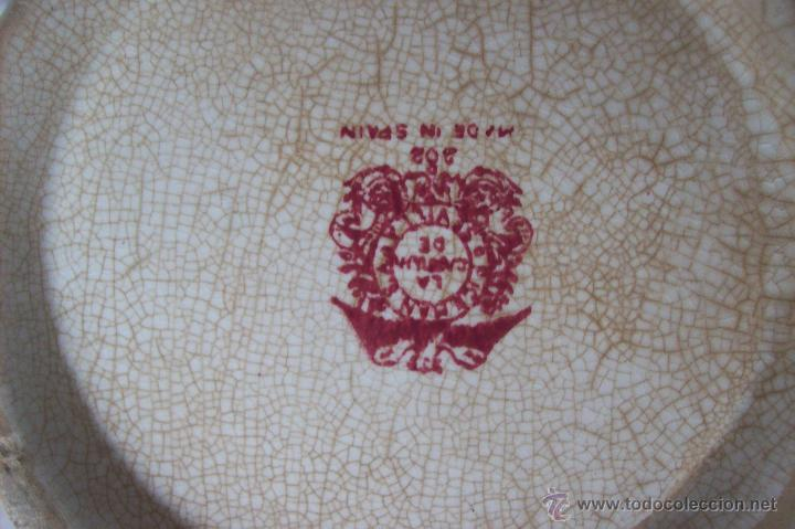 Antigüedades: Juego te Cartuja de Sevilla Pickman - Foto 2 - 51669342