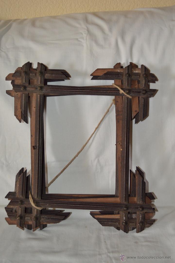 lote de 5 marcos de madera antiguos iguales, 21 - Comprar Marcos ...