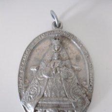 Antigüedades: MEDALLA ALUMINIO VIRGEN DE LOS REYES DE LA ESCUELA DE FORMACION PROFESIONAL. Lote 51672778