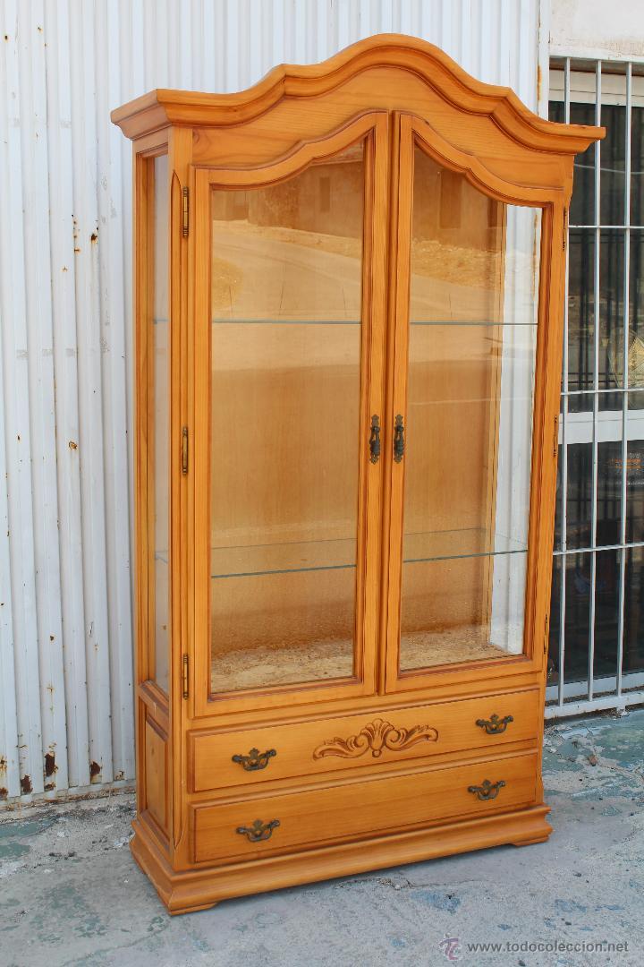 Vitrina en madera de pino comprar vitrinas antiguas en todocoleccion 51674214 - Madera de pino ...