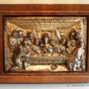 Antigüedades: CUADRO ,BAJORRELIEVE, ULTIMA CENA DE JESUS. Lote 51698514