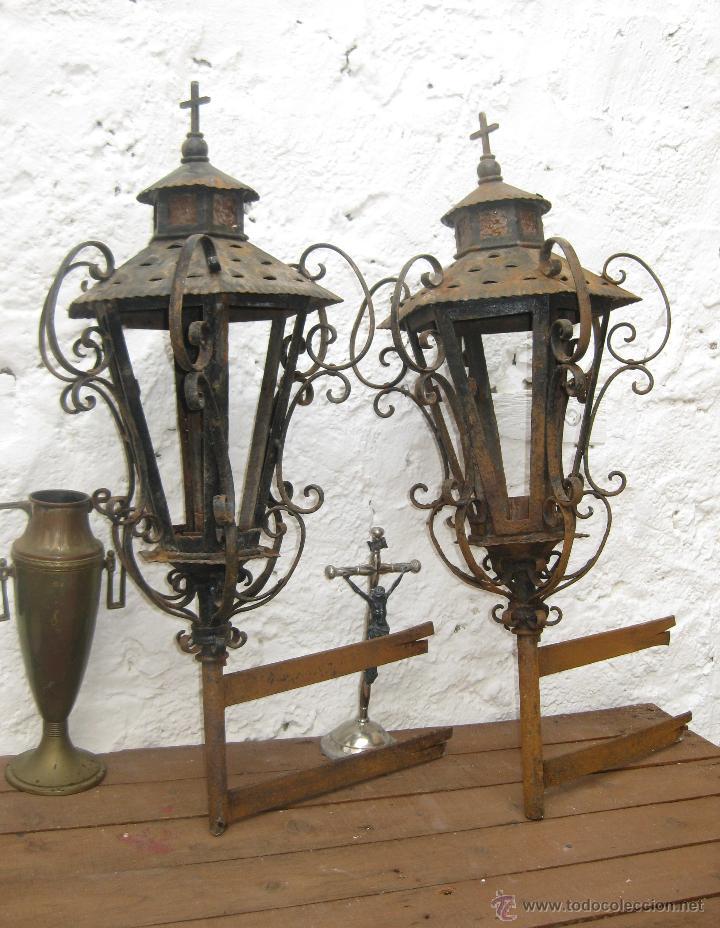 vip lamparas faroles antiguos en forja comprar
