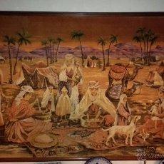 Antigüedades: TAPIZ ALFOMBRA CON MARCO. Lote 51712517