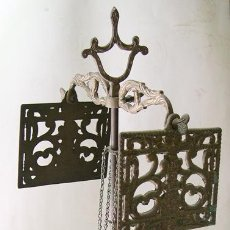 Antigüedades: VELON COMPLETO EN BRONCE. Lote 51716171