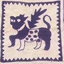 Antigüedades: COJINES CON BORDADO LAGARTERA ( TOLEDO ). Lote 51722480
