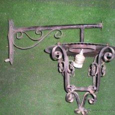 Antigüedades: FAROL DE PARED 40X30CM. Lote 51723823