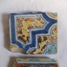 Antigüedades: AZULEJOS. RACHOLA, TALAVERA CON DECORACIÓN JASPEADA SM. SVI . Lote 51761924