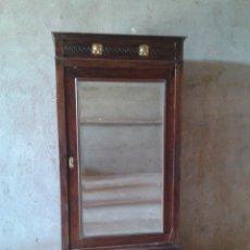 Antigüedades - armario antiguo estilo modernista art deco nouveau armario ropero francés con espejo retro vintage - 51768370