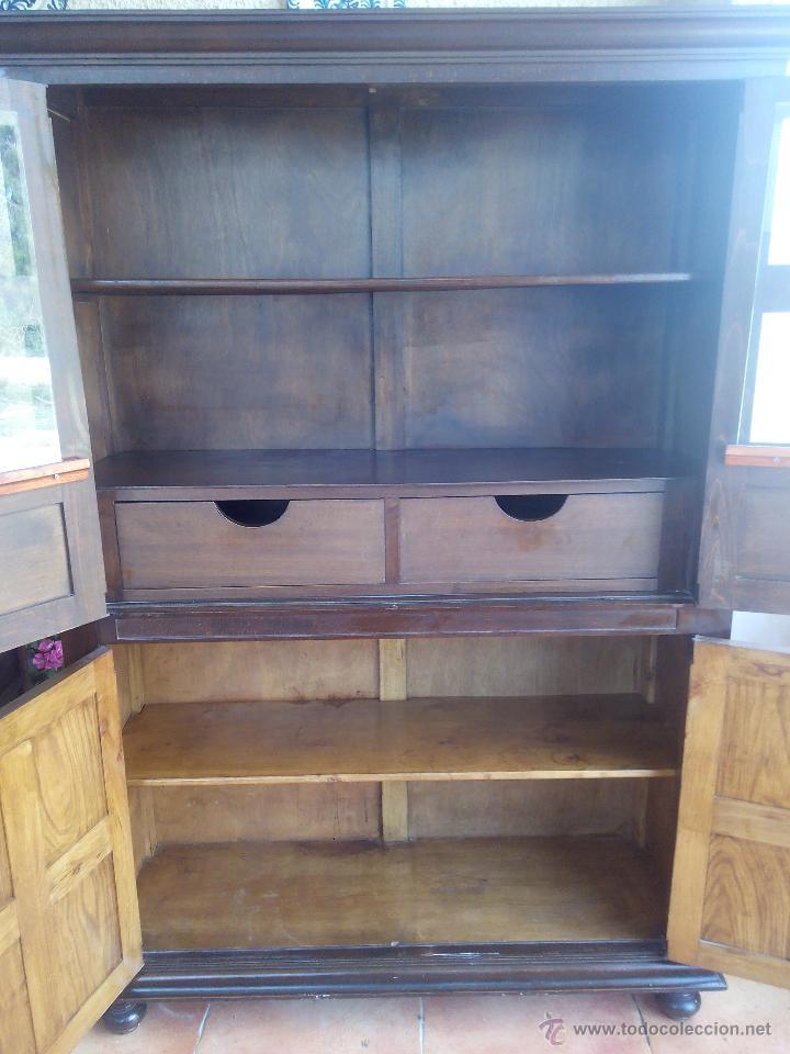 Aparador Antiguo Tallado ~ antiguo mueble aparador alto, castellano talla Comprar