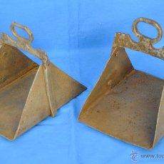 Antigüedades: ESTRIBOS ANTIGUOS DE HIERRO.. Lote 51786201