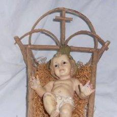 Antigüedades: NIÑO JESÚS DE OLOT, PARA RESTAURAR. Lote 51795564