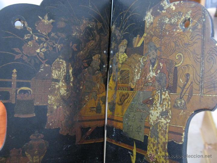 Antigüedades: MAGNIFICA ESTANTERÍA RINCONERA JAPONESA SIGLO XIX - Foto 3 - 51801619