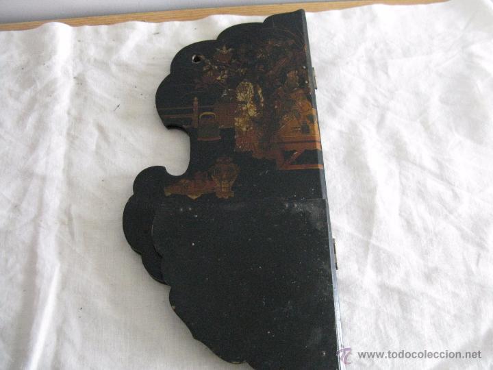 Antigüedades: MAGNIFICA ESTANTERÍA RINCONERA JAPONESA SIGLO XIX - Foto 4 - 51801619