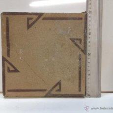 Antigüedades: BALDOSA - REJOLA . Lote 51805082