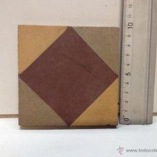 Antigüedades: BALDOSA - REJOLA 10 X10. Lote 51805202