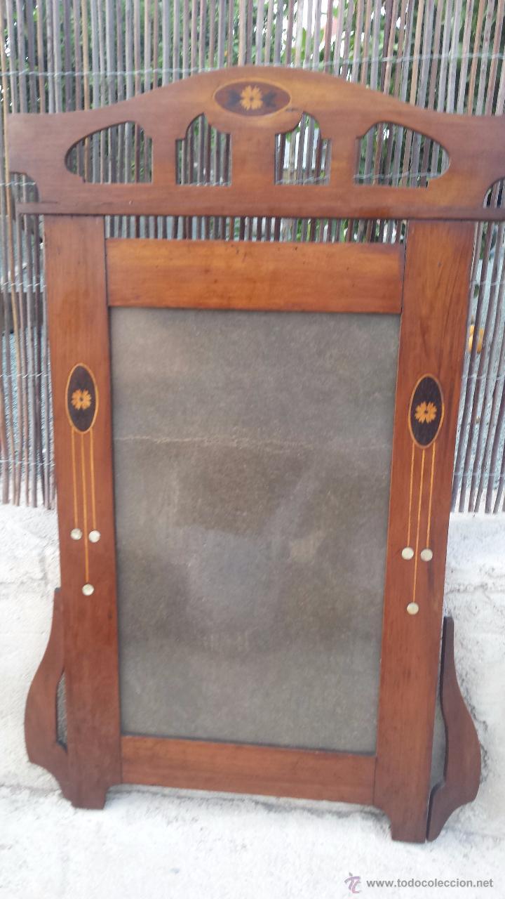 Antiguo marco de madera para espejo o foto co comprar marcos antiguos de cuadros en - Marcos de madera ...