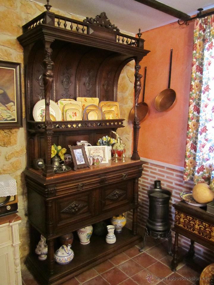Aparadores de madera aparador de madera con puertas y - Cajones de madera antiguos ...