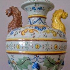 Antigüedades: ANFORA CERAMICA TALAVERA RUIZ DE LUNA 1930-40. Lote 51891408
