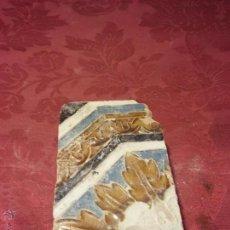 Antigüedades: BONITO AZULEJO TRIANA SIGLO XVI ARISTA. SEVILLA ANTIGUO CERAMICA 6. Lote 51919532