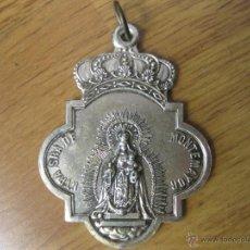 Antigüedades: MEDALLA DE LA REAL HERMANDAD DE NUESTRA SEÑORA DE MONTEMAYOR - MOGUER. Lote 51931516