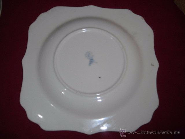 Antigüedades: BONITO JUEGO DE CAFE O TE Y SEIS PLATOS DE POSTRE MARIANO POLA GIJON - Foto 14 - 51937062