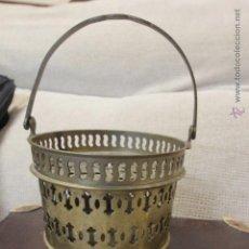 Antigüedades: PIEZA DE BRONCE DE ORIGEN INDIO, DESCONOZCO DE QUE SE TRATA EXACTAMENTE. VER FOTOS.. Lote 51938474