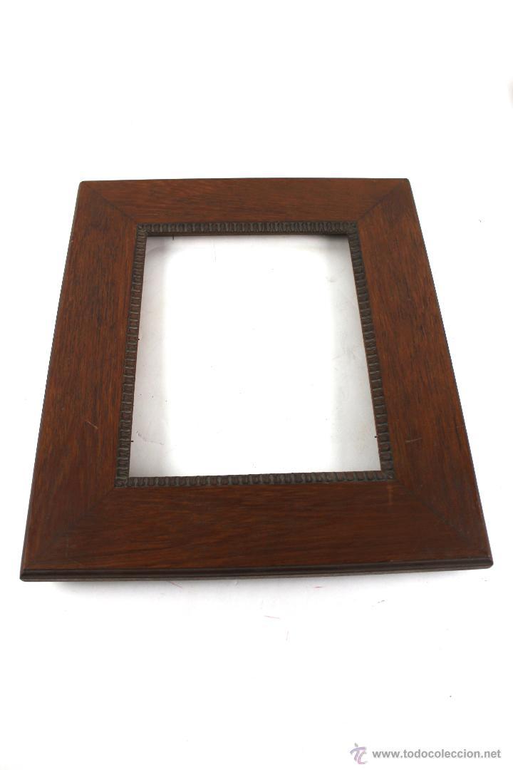 marco en madera de roble. - Comprar Marcos Antiguos de Cuadros en ...