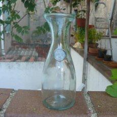 Antigüedades: BOTELLA CRISTAL PARA VINO. 1/2 LITRO. ITALIA.. Lote 51967645