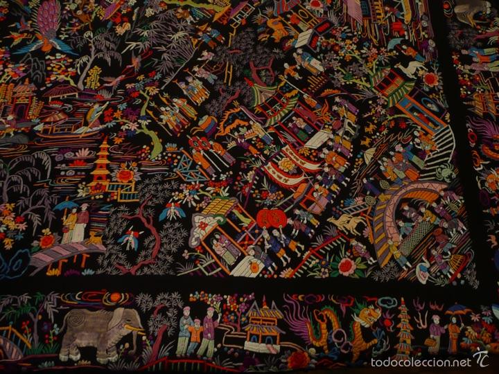 Antigüedades: Manton de Manila - Foto 4 - 51975719