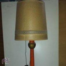 Antigüedades: LAMPARA MADERA. Lote 52005381