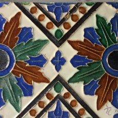 Antigüedades: AZULEJO MENSAQUE. Lote 52011372