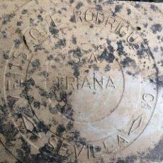Antigüedades: AZULEJO MENSAQUE. Lote 52011220