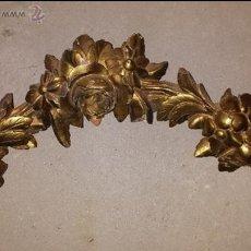 Antigüedades: REMATE DE MADERA S . XLX. Lote 51807985