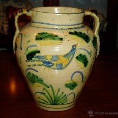 Antigüedades: LOZA ESPAÑOLA ORZA DE PUENTE SIGLO XVIII. Lote 52030525
