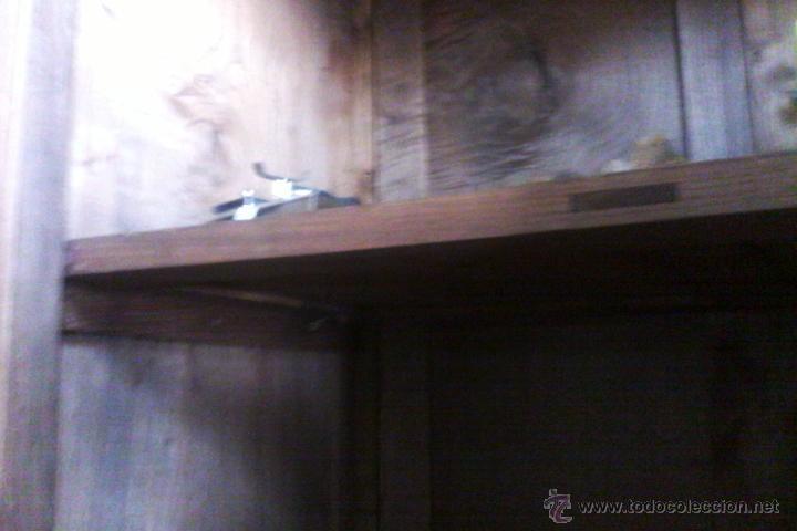 Antigüedades: IMPRESIONANTE ARMARIO DE CASTAÑO ANTIGUO - Foto 20 - 26407165