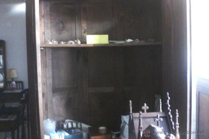 Antigüedades: IMPRESIONANTE ARMARIO DE CASTAÑO ANTIGUO - Foto 22 - 26407165