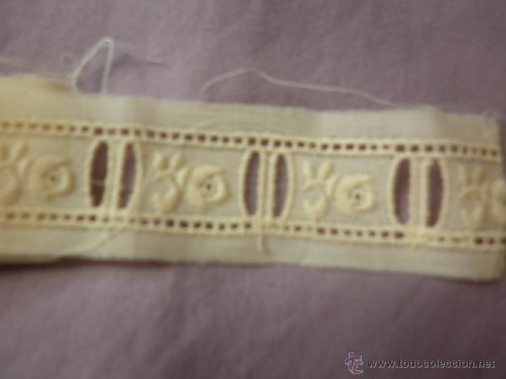 Antigüedades: ENTREDOS DE BATISTA Y APLIQUE DE REGALO - Foto 2 - 52138278
