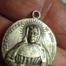 Antigüedades: BONITA MEDALLA VIRGEN DE VALENCIA Y BEATA TERESA JORNET - SIGLO XX - MIRA MAS EN MI TIENDA. Lote 52146061