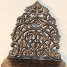 Antigüedades: MENSULA EN MADERA TALLADA. Lote 84147607