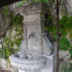 Antigüedades: FUENTE DE PIEDRA CALIZA. Lote 52148147