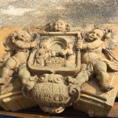 Antigüedades: IMPORTANTE PORTAL BARROCO PROCEDENTE DE VIC, REALIZADO POR LOS ESCULTORES PUJOL EN EL S.XVIII.. Lote 52160836