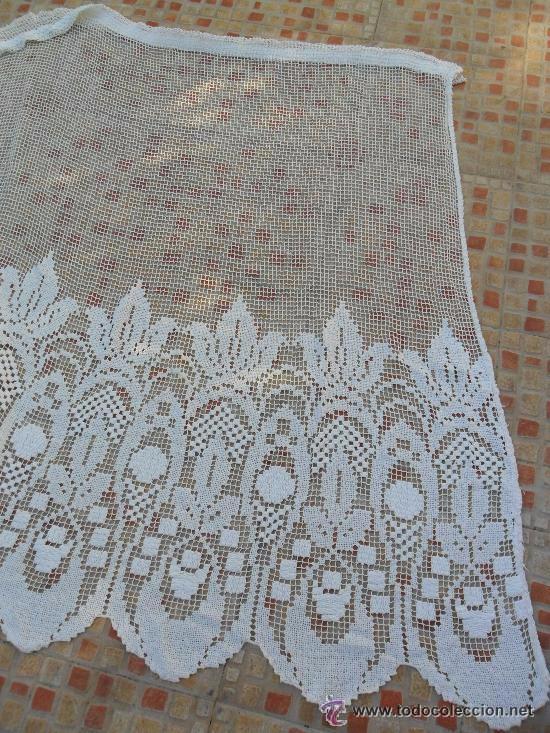 Antigüedades: Antigua cortina de malla - modernista - Foto 3 - 52162166